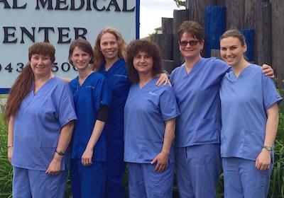 Animal Medical Center Staff